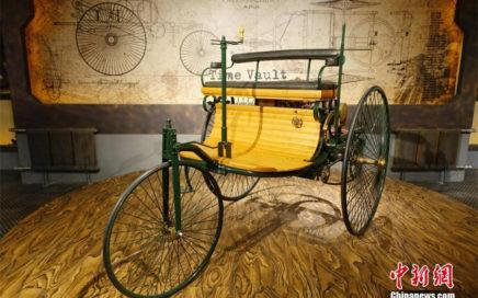 Une des voitures exposée au musée chinois de voitures anciennes à Dalian