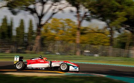 Lance Stroll au volant de sa Formule 3